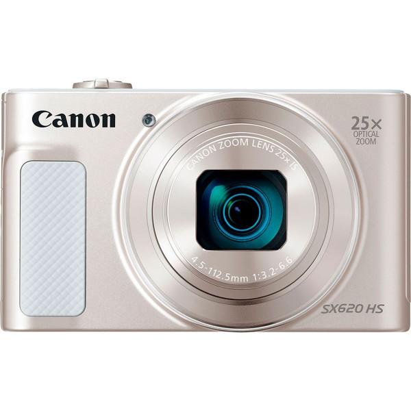 Canon powershot sx620hs blanco cámara compacta 20.2mp full hd 25x gran angular digic4+ wifi nfc