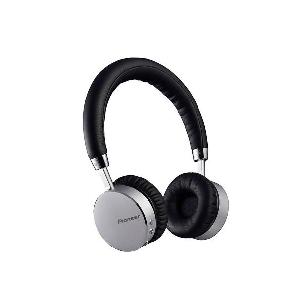 Pioneer se-mj561bt plata auriculares bluetooth nfc 40mm con diseño de aluminio
