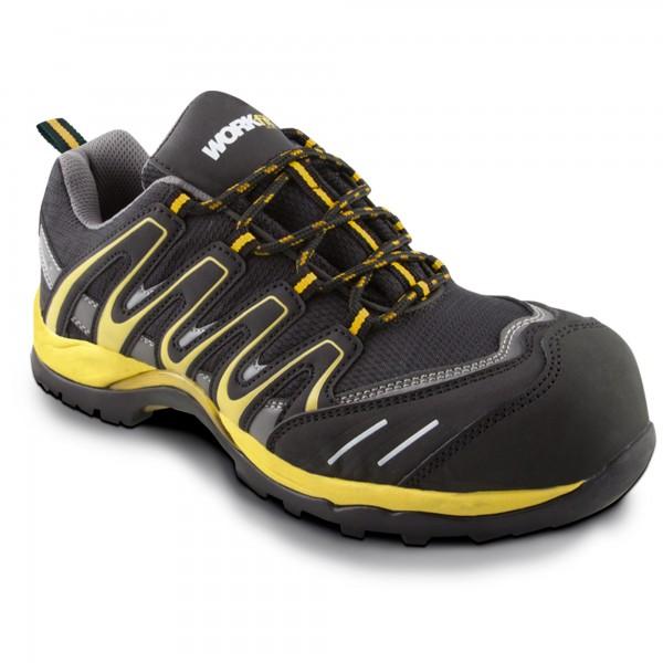 Zapato seg. workfit trail amarillo n.46