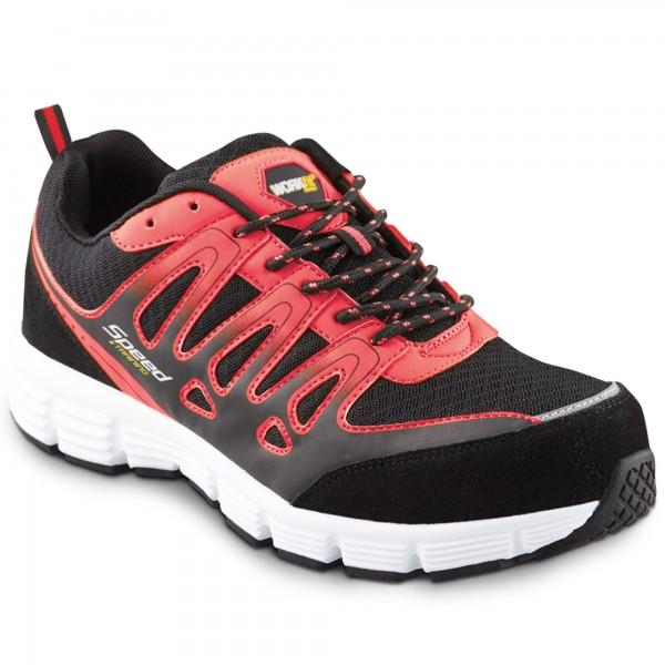 Zapato seg. workfit speed rojo n.46