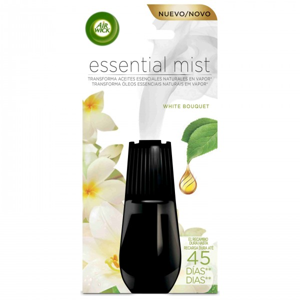 Air wick ambientador essential Mist recambio white bouquet