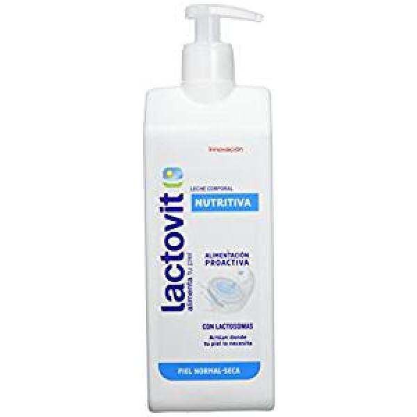 Lactovit leche corporal nutritiva piel normal-seca dosificador 400 ml