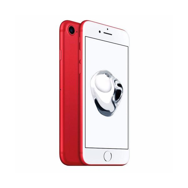 Apple iphone 7 128gb rojo reacondicionado cpo móvil 4g 4.7'' retina hd/4core/128gb/2gb ram/12mp/7mp