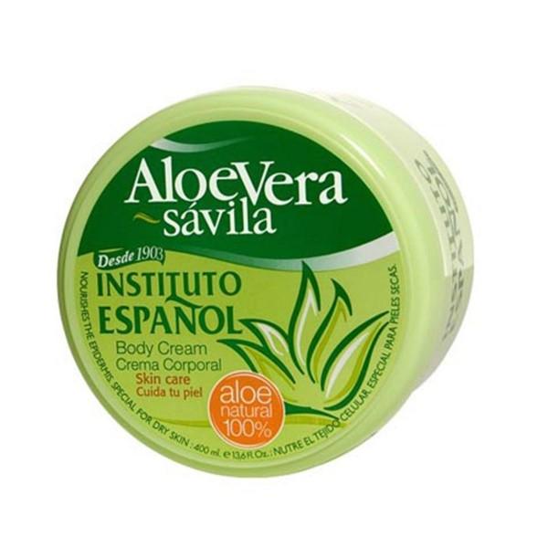 Instituto español aloe vera crema tarro tarro 400ml