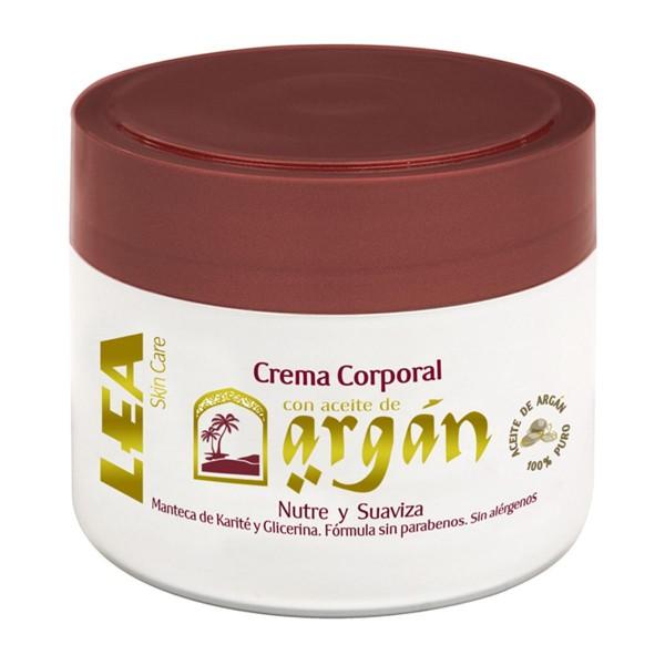 Lea hombre crema corporal con aceite de argan 200ml