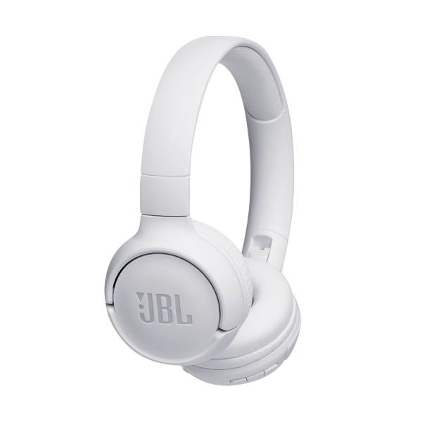 Jbl tune 500 bt blanco auriculares inalámbricos bluetooth multipunto jbl pure bass