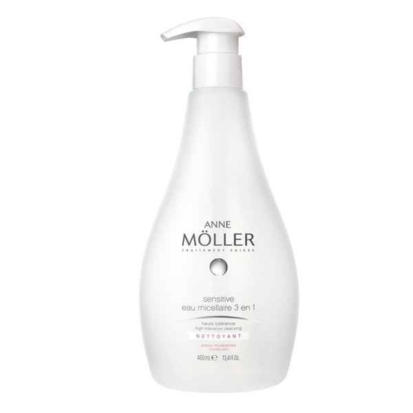 Anne moller desmaquillante sensitive eau micellaire 3 en 1 400ml