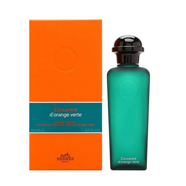 Hermes eau d'orange verte concentrado eau de toilette 200ml vaporizador