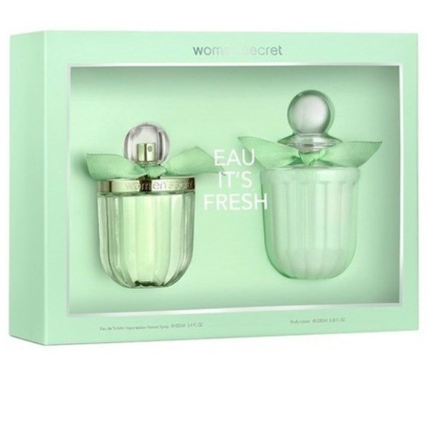 WOMAN SECRET  Set EDT  IT´S FRESH 100 ml + Body Lotion 200  ml