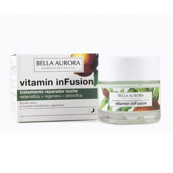 Bella aurora vitamin infusion tratamiento reparador noche 50ml