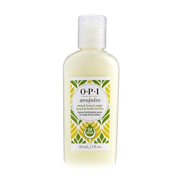 Opi avojuice sweet lemon sage hand body lotion 28ml