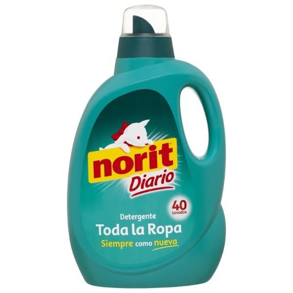 Norit detergente diario 40 dosis