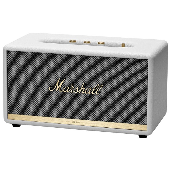 Marshall stanmore ii blanco altavoz bluetooth 50w vintage con asistente google