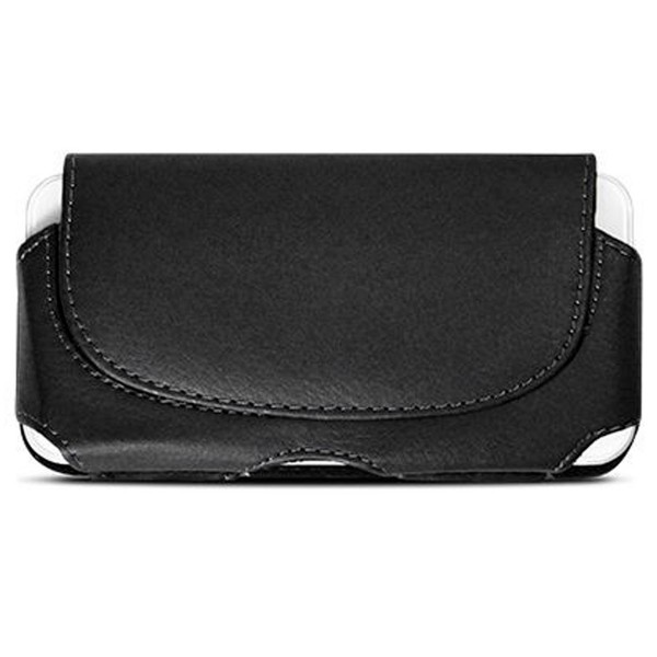 Akashi carcasa riñonera negra 5.5'' universal cinturón para móviles
