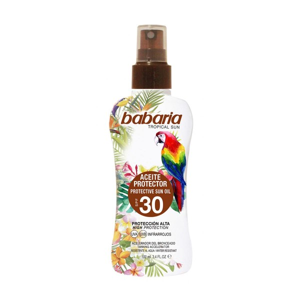 Babaria tropical sun aceit.prot.fp30 100 ml