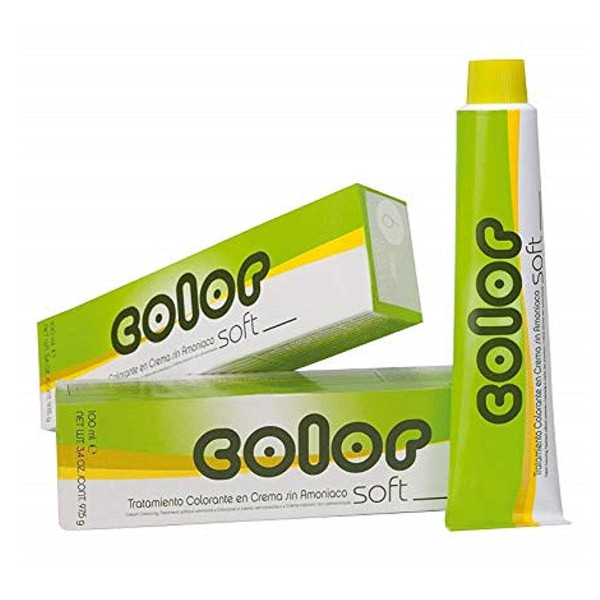 Salerm color soft tratamiento colorante en crema sin amoniaco f1 100ml
