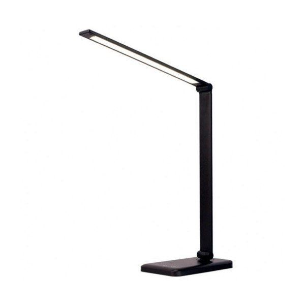 Innjoo naia negra lámpara inteligente led inalámbrica 2000mah control temperatura y brillo