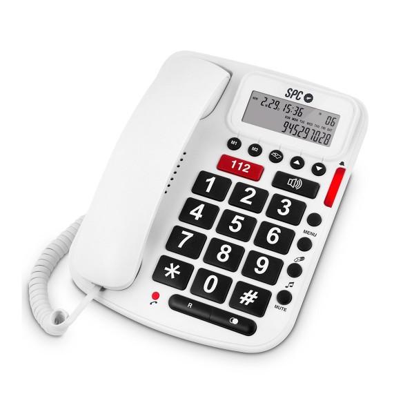 Spc telecom 3293 telefono teclas grandes
