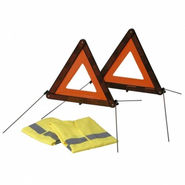 Kit Triángulos (2) Emergencia + (2) Chaleco En471.