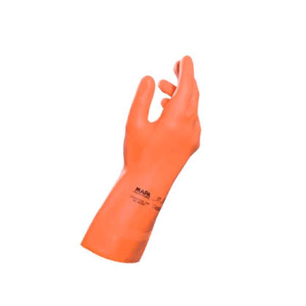 Mapa Profesional guantes de latex T-8 Pequeña