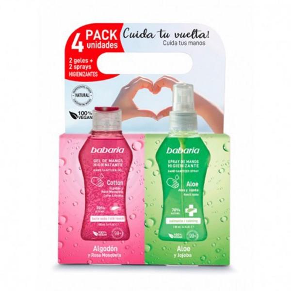 Babaria higienizante spray pack 400ml