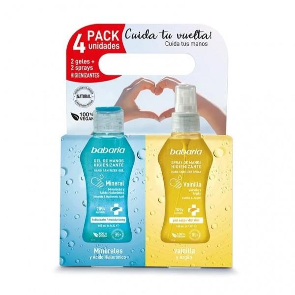 Babaria cuerpo gel higienizante pack 400ml