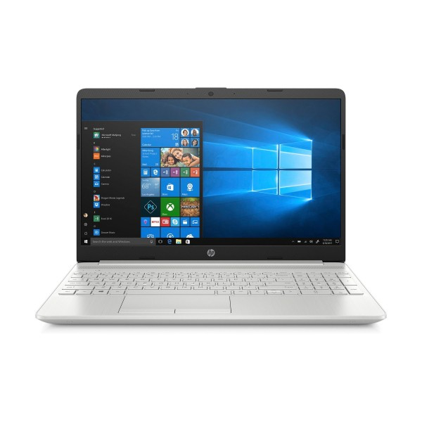 Hp 15s-dw2008 plata portátil 15.6'' fullhd i5-1035g1 256gb ssd 8gb ram  mx130-2gb windows 10 home