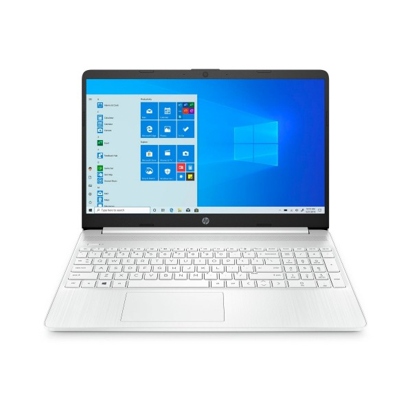Hp 15s-fq1051 blanco portátil 15.6'' hd i5-1035g1 512gb ssd 8gb ram windows 10 home